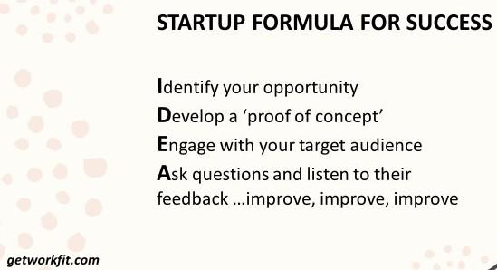 startup formula