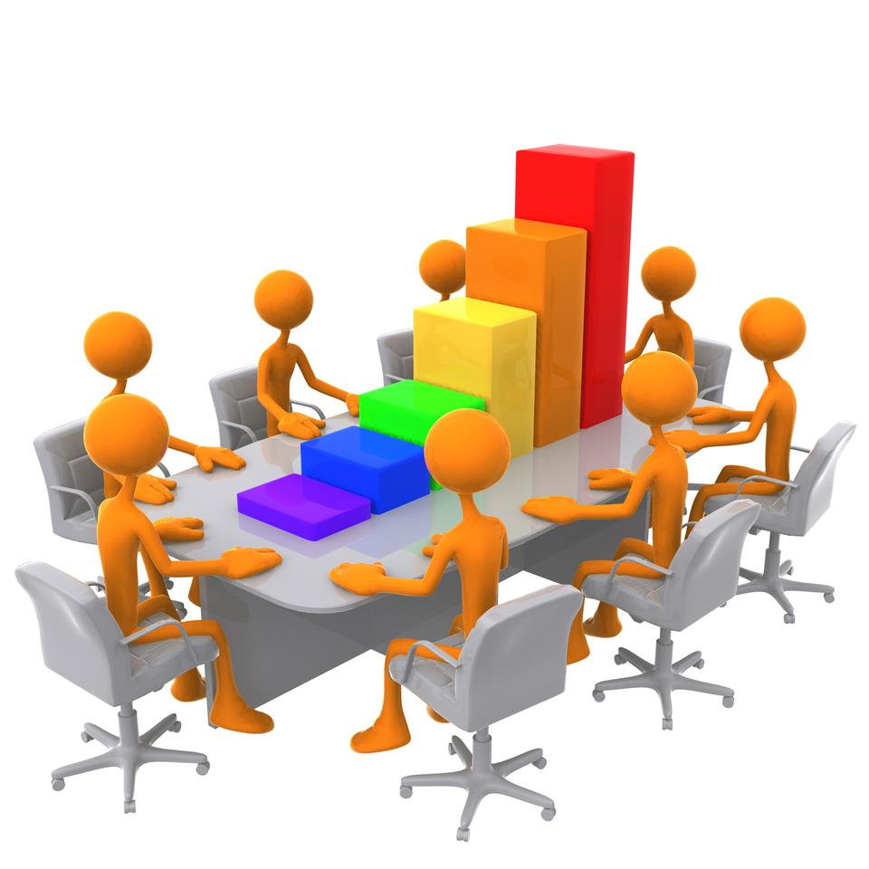 3D-Bar-Graph- Sales -Meeting-